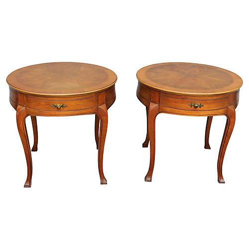 John Widdicomb Side Tables, Pair