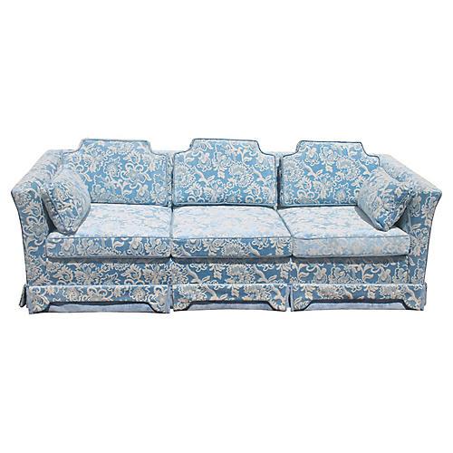 Midcentury Velvet Sofa