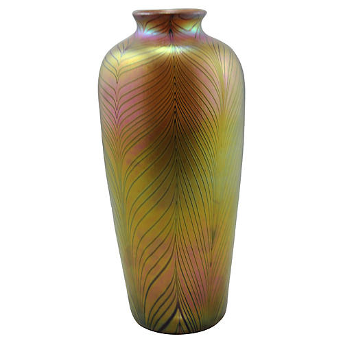 Aurene Color Contemporary Feather Vase