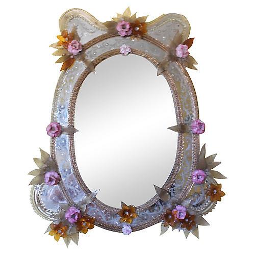 19th-C. Venetian Mirror