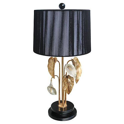 Maison Charles Bronze Nénuphar Lamp