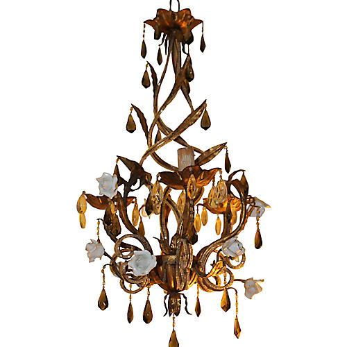 French Deco Maison Bagues Chandelier