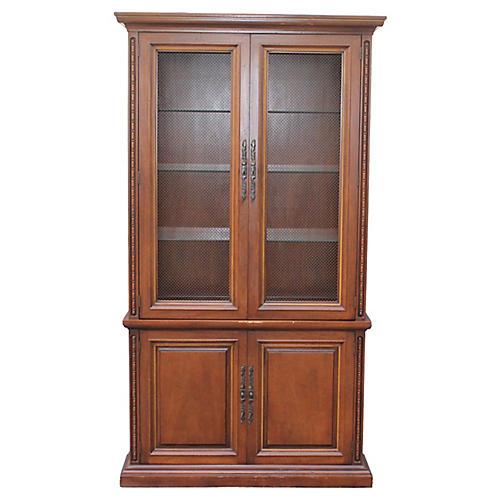 Midcentury Walnut Bookcase