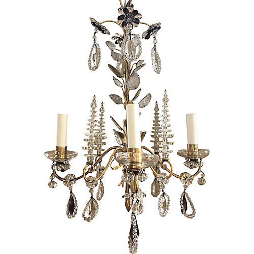 Maison Bagues Beaded Chandelier