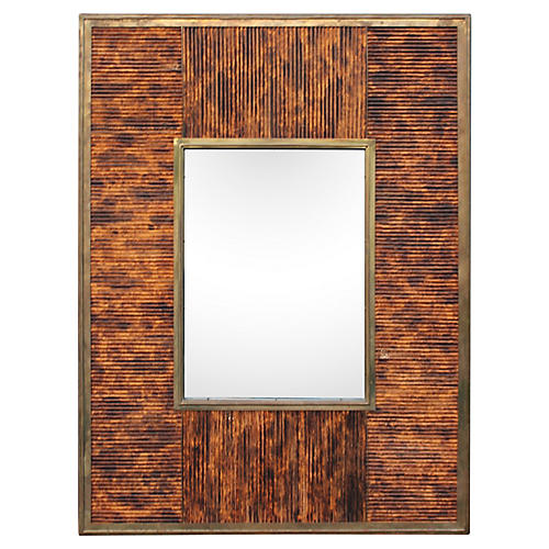 Midcentury Wall Mirror