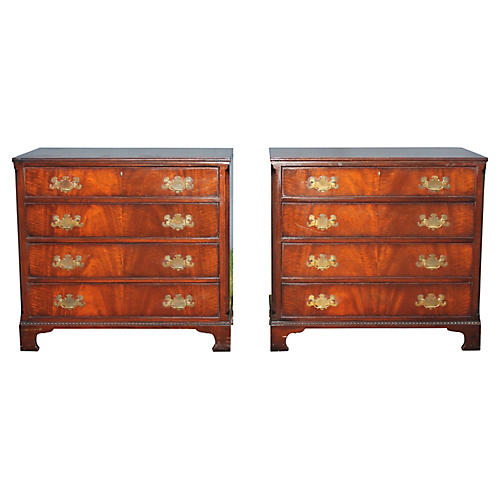1940s Bachelors Chests, Pair