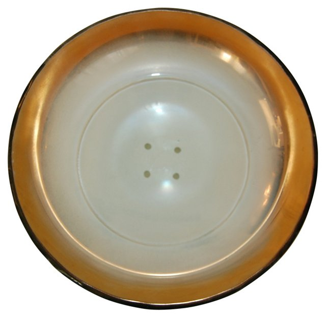 Salvatore Polizzi Art Glass Bowl