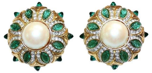 Weinberg Jeweled Earrings