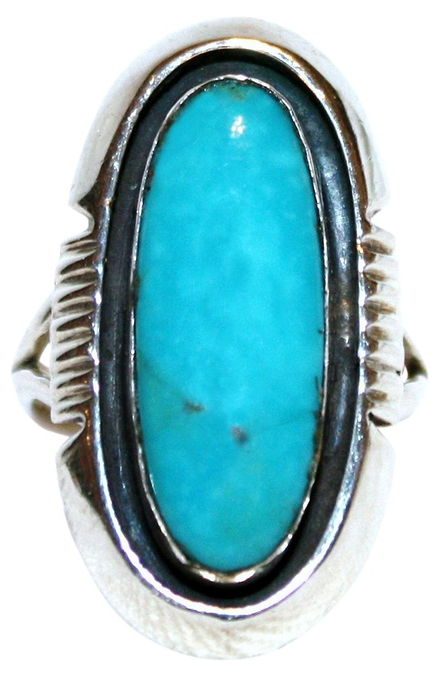 Navajo Sterling & Turquoise Ring