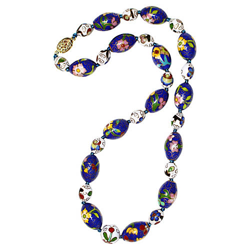 Chinese Cloisonné Necklace