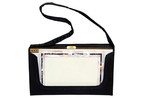 1950s Volupte Enameled Vanity Purse