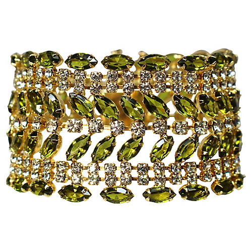 Green Marquis Bracelet