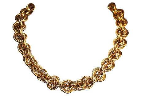 Italian Bijoux Cascio Chain Choker