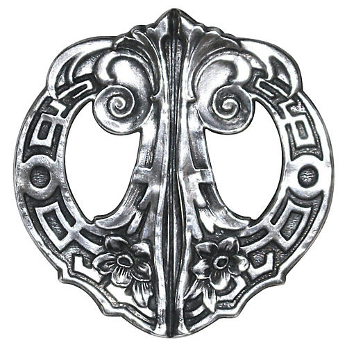 Art Nouveau Sterling Brooch