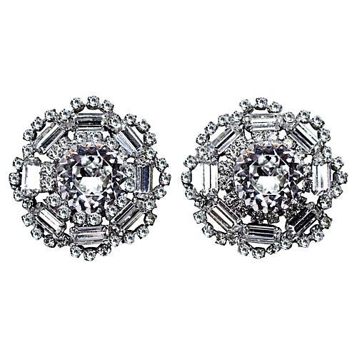 Crystal Cocktail Earrings