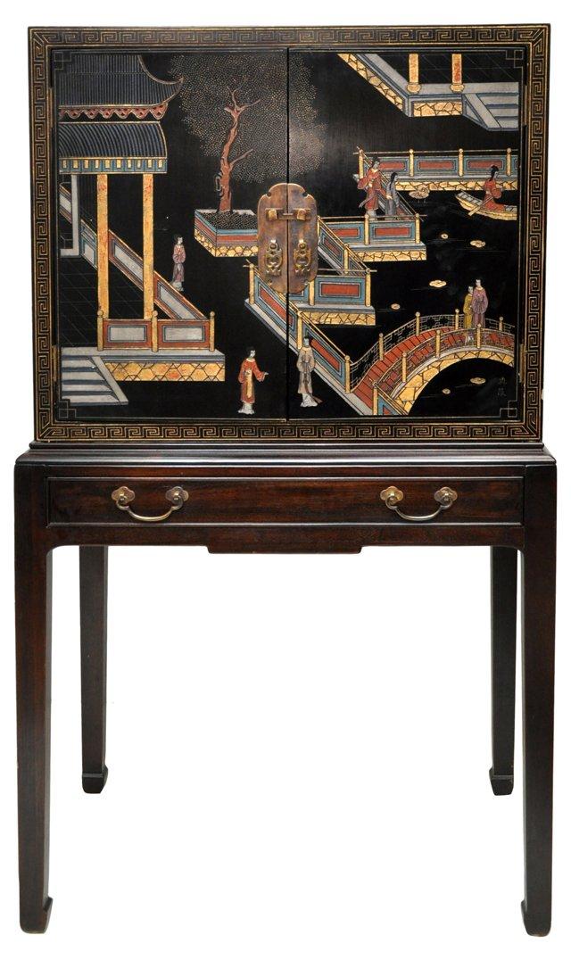 Henredon Asian-Style  Cabinet