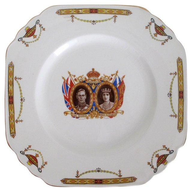 George VI Coronation Plate