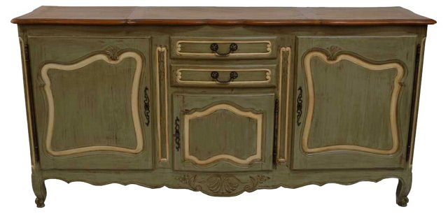 SOLDAntique French Country Sideboard