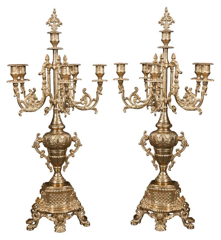 Louis XVI Candelabra, Pair