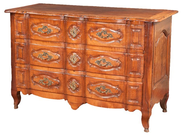French Provençial  Cherry Commode