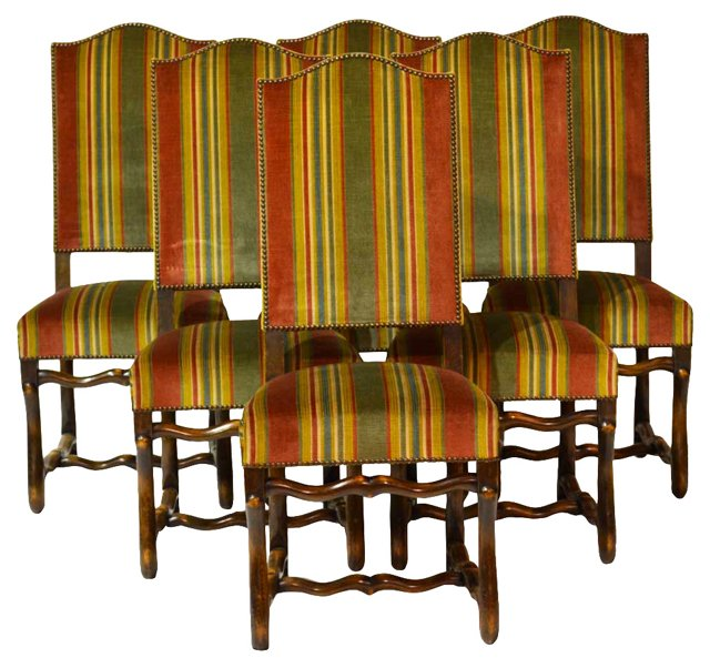 SOLDFrench Country  Chairs, S/6