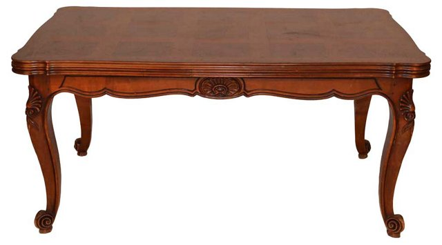 Antique   French Cherry Dining Table