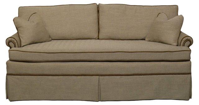 1960s Sofa w/ Velvet Cording