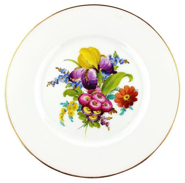 Bavarian Flower Wall Plate