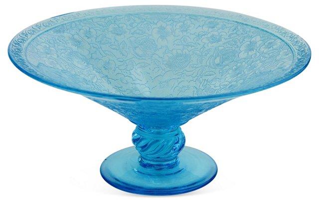 Depression Glass  Centerpiece Bowl