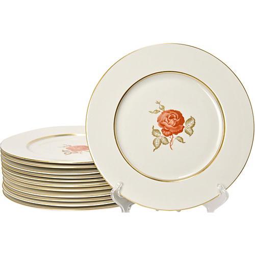 Castleton Dinner Plates, S/12