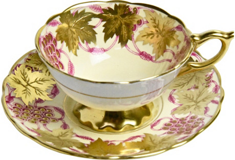 Royal Stafford Gilded Cup & Saucer