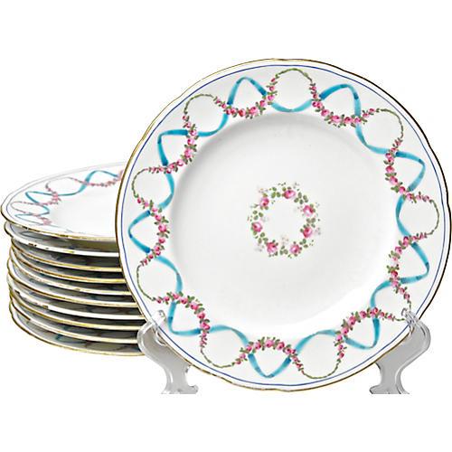 Antique English Plates, S/12