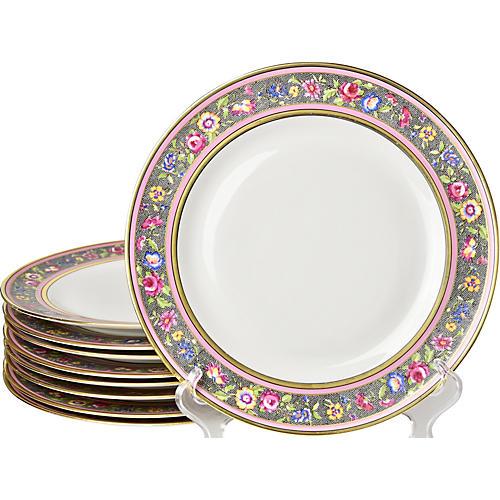 Limoges Dinner Plates, S/9