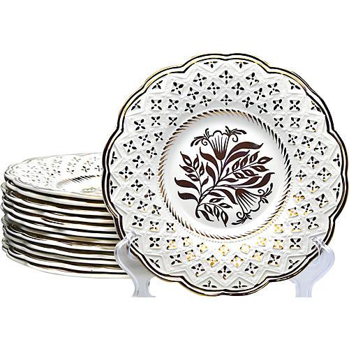 Wedgwood Lusterware Plates, S/13