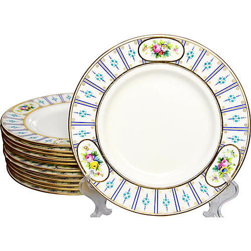 Antique Mintons Plates, S/12