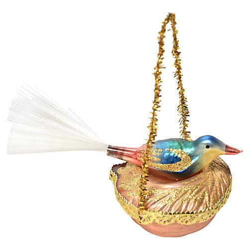 Nesting Bird Ornament