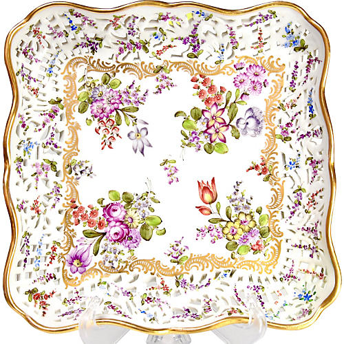 Dresden Reticulated Tray