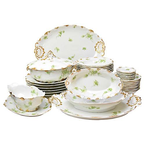 Limoges Dinner Service, 42 Pcs