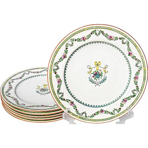 1930s Spode Dinner Plates, S/6
