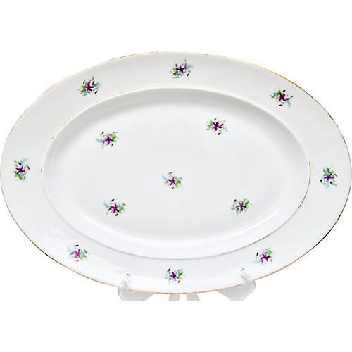 19th-C. French Platter