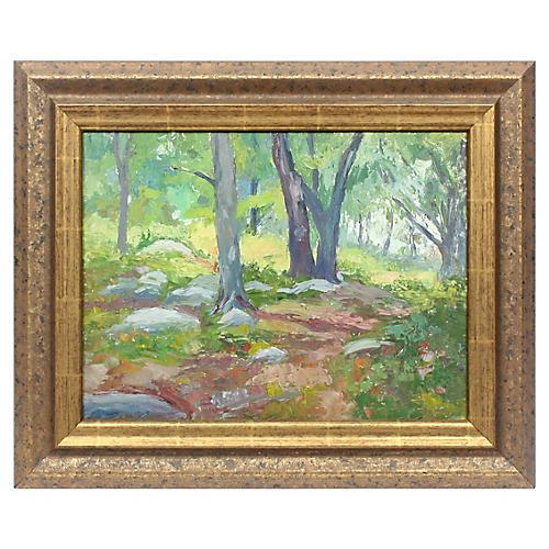 Forest Landscape by John Rummell