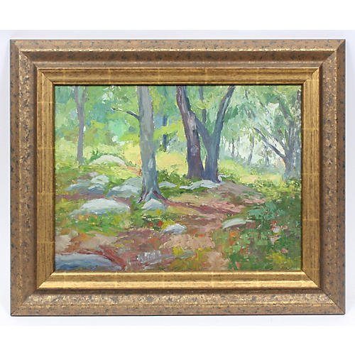 John Rummell Forest Interior