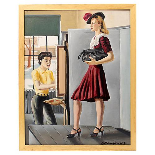 Buffalo Art Institute by C. Koenig, 1942