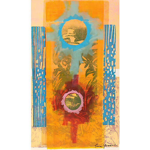 1960s Monotype by Toma Yovanovich