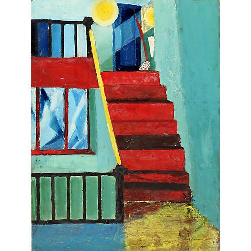 Midcentury Interior by Harriet Nash