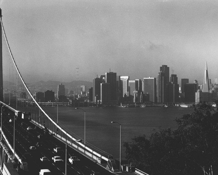 San Francisco Skyline by Gerald Ratto
