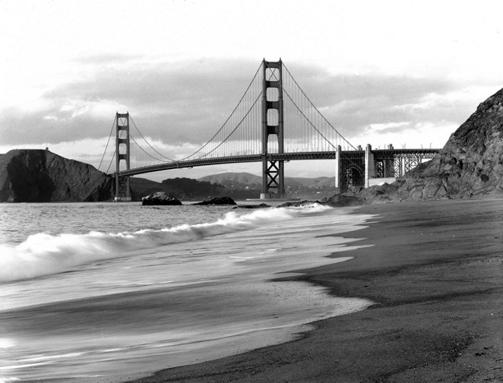 Golden Gate Bridge, Baker Beach