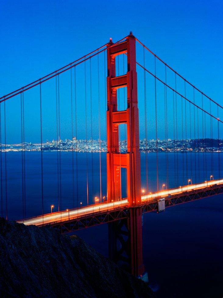 Golden Gate Bridge by Gerald Ratto