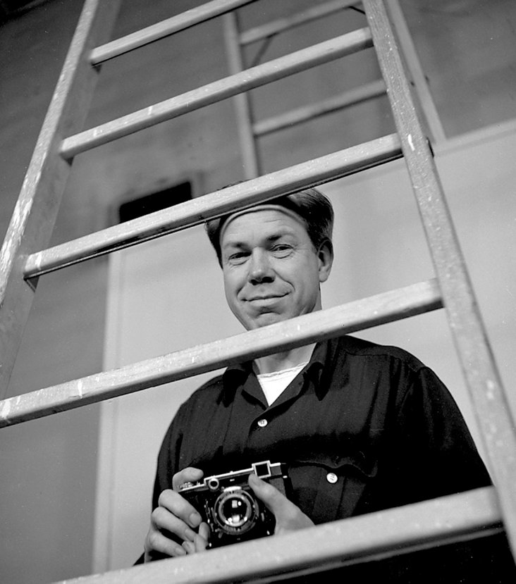 Photographer Minor White by Gerald Ratto