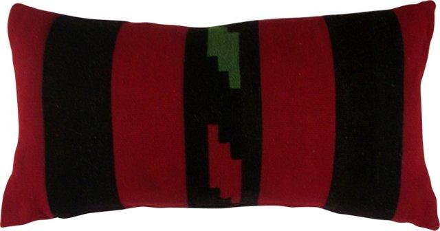 Striped Kilim  Rug Pillow